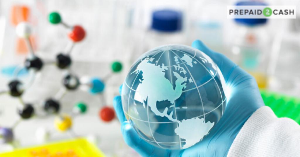 Image of Doctor Holding Globe