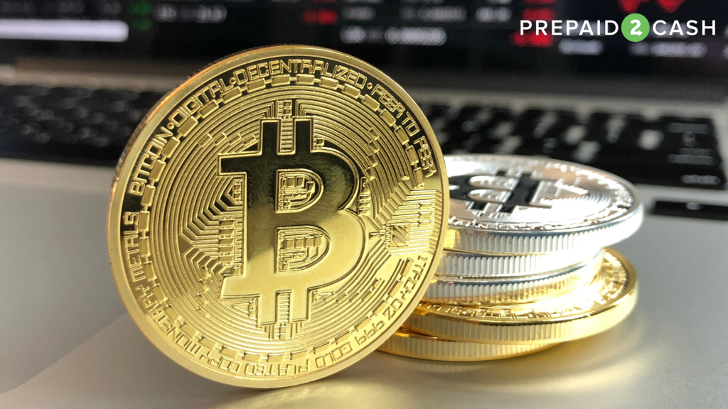 Image of Bitcoin coins